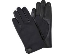 Handschuhe, Lammleder/Textil