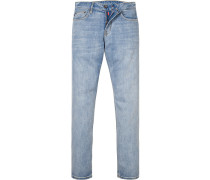 Jeans, Modern Fit, Baumwolle, hellblau