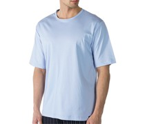 T-Shirt, Baumwolle, hellblau
