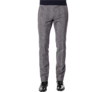 Hose Chino, Slim Fit, Microfaser
