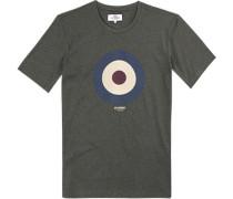 T-Shirt, Baumwolle, moosgrün