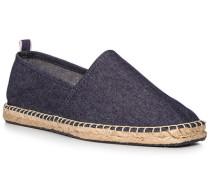 Espadrilles, Textil, jeansblau