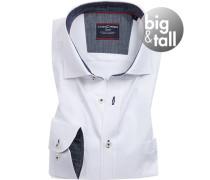 Hemd, Big&Tall, Comfort Fit, Baumwolle, Extra langer Arm