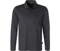 Polo-Shirt Polo, Baumwolle, anthrazit