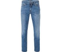Bluejeans, Slim Fit, Baumwoll-Stretch