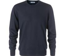 Pullover Pulli, Merinowolle, marineblau