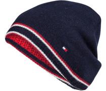 Wendemütze, Wolle-Kaschmir, navy