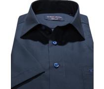 Hemd, Modern Fit, Chambray, marine