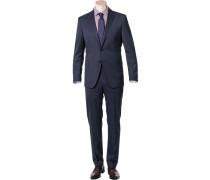 Anzug, Shaped Fit, Schurwolle