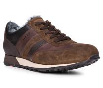 Schuhe Sneaker Alexis, Kalbleder Lammfell gefüttert