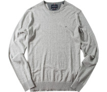Pullover, Wolle-Baumwoll-Mix
