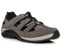 Schuhe Sandalen, Leder-Microfaser