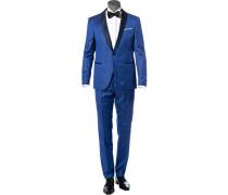 Anzug Smoking, Slim Fit, Schurwolle