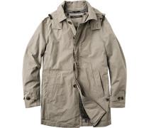 Mantel, Baumwolle ausknöpfbares Futter