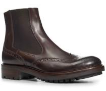 Schuhe Chelsea Boots, Kalbleder glatt