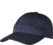 Caps, Mikrofaser, navy