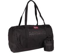 Tasche Sporttasche, Microfaser, dunkelbraun
