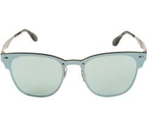 Brillen Sonnenbrille Blaze Clubmaster, Metall