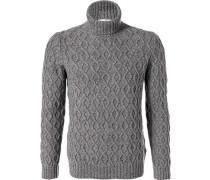 Rollkragen-Pullover Herren, Wolle