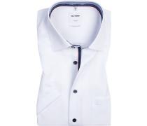 Hemd, Comfort Fit, Baumwolle, weiß