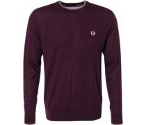 Pullover, Merinowolle, violett