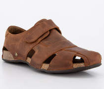 Sandalen Herren, Glattleder