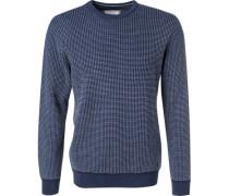 Pullover, Baumwolle, gemustert