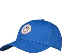 Cap, Baumwolle, capriblau