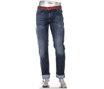 Jeans-Hose Bike, Regular Slim Fit, Baumwoll-Stretch COOLMAX
