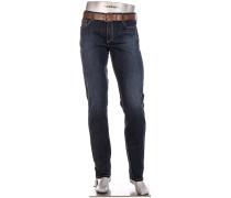 Blue-Jeans Pipe, Regular Slim Fit, Baumwolle