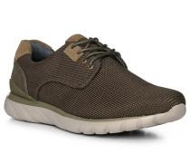 Schuhe Sneaker, Textil, dunkelgrün