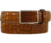 Gürtel cognac, Breite ca. 3,5 cm