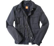 Fieldjacket, Baumwolle, dunkelblau
