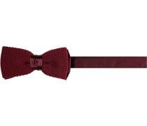 Krawatte Schleife, Seide, bordeaux