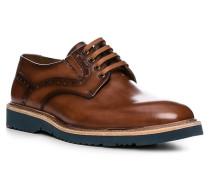 Schuhe Derby Kandy, Kalbleder, cognac