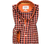 Ober-Hemd, Regular Fit, Baumwolle