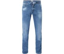Bluejeans, Modern Fit, Baumwoll-Stretch