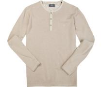 Pullover, Leinen-Baumwolle