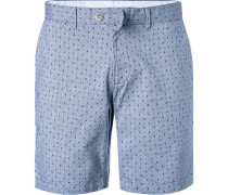 Hose Shorts, Baumwolle, gemustert