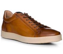 Schuhe Sneaker, Leder, cuoio