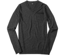 Pullover, Slim Fit, Woll-Mix