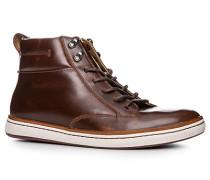 Schuhe Stiefeletten, Leder, warm gefüttert