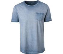 T-Shirt, Baumwolle, gestreift
