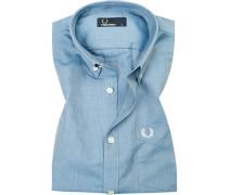 Kurzarm-Hemd, Baumwolle