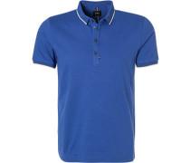 Polo-Shirt Polo, Baumwoll-Piqué, königsblau
