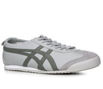 Schuhe Sneaker, Leder, hellgrau