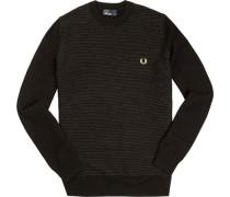 Pullover, Baumwolle, aqua-marineblau
