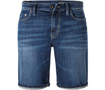 Jeans Shorts, Shaped Fit, Baumwoll-Stretch