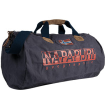 Tasche Reisetasche, Baumwolle, marineblau