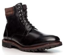 Schuhe Schnürstiefeletten, Kalbleder warmgefüttert